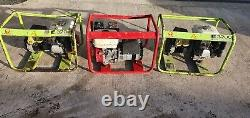 Pramac 3200 3.2 Kva Generator Honda 110 Volt Gx160 Petrol Site Genny