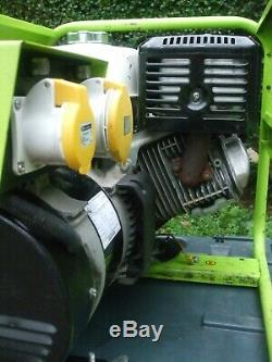 Pramac E6900 7.15Kva Honda GX390 13hp Petrol Generator