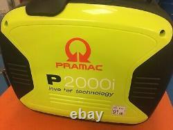 Pramac P2000i YAMAHA engine Petrol Inverter Generator