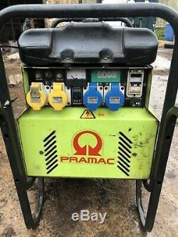 Pramac P4500 Generator 115v 230v 110v 240v