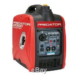 Predator 2000 Watt Super Quiet Inverter Generator WE SHIP FREE TO PUERTO RICO