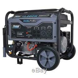 Pulsar 12000 watt dual fuel portable propane/Electric start Gas Generator G12KBN