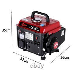 Quiet Inverter Generator 230V Portable Petrol for Boat Caravan Camping Emergency