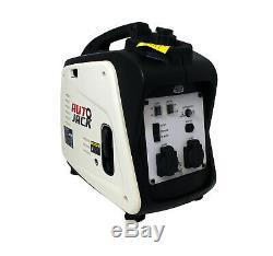 Quiet Portable Suitcase Inverter Petrol Generator 4 Stroke 2.6HP 1800W 12V 240V