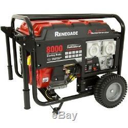 Renegade 6.5KVA 12HP Generator Portable