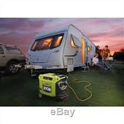 Ryobi Petrol Generator Super Quiet Inverter 2KW 106cc Portable Caravan Camping