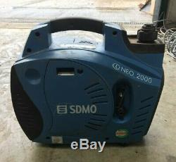 SDMO Inverter Neo 2000 (1.85kW 230V and 12V) Suitcase Style Silent Gen