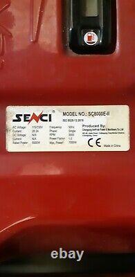 SENCI SC8000E-II GENERATOR 6.5kw continuous Electric Start 420cc 14hp