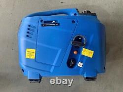 SILENT PETROL GENERATOR 2.2 KW ELECTRIC / REMOTE START 2 YEAR UK WARRANTY blue