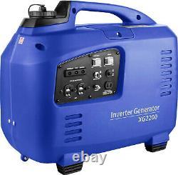 SILENT PETROL GENERATOR 2.2 KW ELECTRIC / REMOTE START UK WARRANTY 1 only reduc