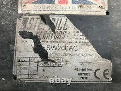 STEPHILL HONDA 6.5KVA PETROL WELDER GENERATOR SW200AC 2016 5.2KW great condition