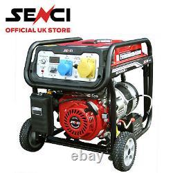 Senci SC4000-II Petrol Generator 3.76kw With Electric Start