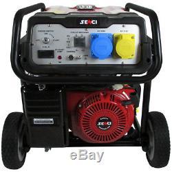 Senci SC9000-II Petrol Generator 8kw With Electric Start