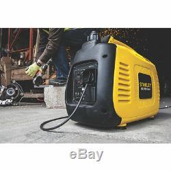Stanley SIG1700 1600w Silent Inverter Petrol Generator Camping Caravan Suitcase