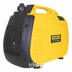 Stanley SIG1700 1600w Silent Inverter Petrol Generator Camping Portable Boat
