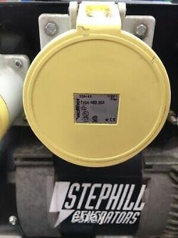 StepHill SE7500EC Petrol Generator 7.5Kva 110v 13a 32a 63a Honda Gx390 13hp