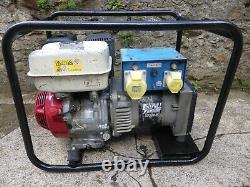 Stephill 5kva Petrol Generator Honda GX270, 110v / 230v