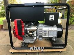 Stephill Bl105f 6.0kva 26.1a Honda Gx340 Petrol Generator
