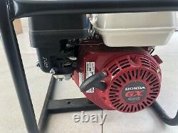 Stephill generator. Honda gx200. 3.4KVA. Used once only, still under warranty