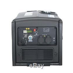 SwitZer Electric Key Start Petrol Inverter Generator 3200W Caravan 230V SZ-3200I