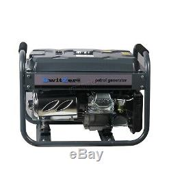 Switzer Petrol Generator Key Start 2.8KW 4 Stroke 6.5HP Gasoline Dual Volt