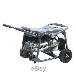 Switzer Petrol Generator With Wheels Key Start 3KW 7HP 4 Stroke Motor