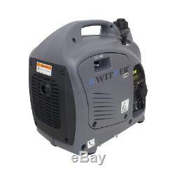 Switzer Petrol Inverter Generator 1000W 230V Ideal For Caravans SZ-1000I