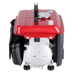 UK Silent Inverter Petrol Generator 750W 2.0 HP Portable Camping 2 Stroke Engine