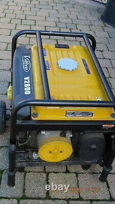 Villiers V2800ES Petrol Generator 2.5Kva 2.2kw