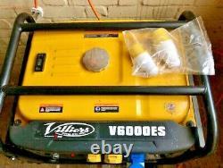 Villiers V6000ES Electric Start Petrol Generator 5.5kw 6Kva (Unused.)