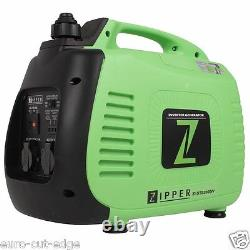 Zipper Power ZI-STE2000IV Silent Petrol Generator CAMPING PERFECT HIGH END BRAND